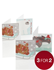 24 Fun Character Christmas Multipack of Cards