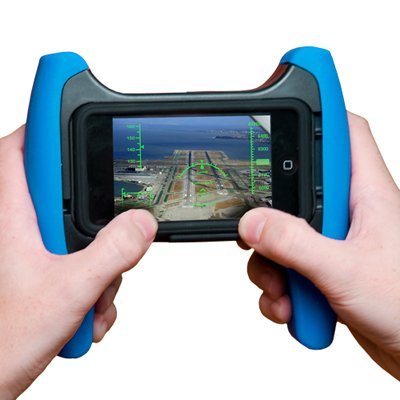 Game Grip For Iphone 3G/Ipod Touch & I Phone Grip Covers Black & Blue