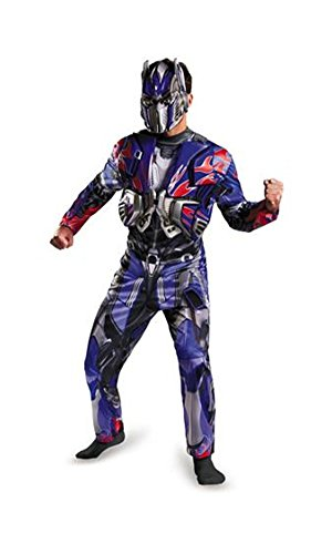 Deluxe Transformers Optimus Prime Costume/Mask Adult Men Size 2XL 44/46 Disguise