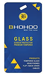 BHOHOO Micromax Q391 Best Premium High Quality Tempered HD Crystal Clear Glass Screen Protector For Micromax Q391