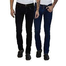 Cladien (Since 1958), 100% Cotton, Men Jeans Combo, Pack of 2 (30)