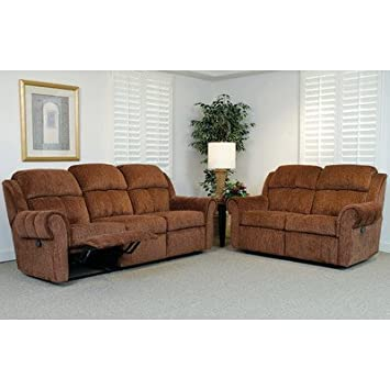 Double Reclining Sofa Color: Santino Cabernet