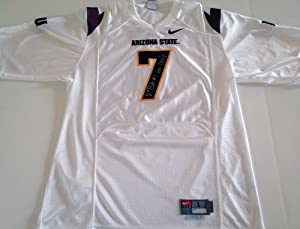 Vontaze Burfict Signed Arizona State Sundevils Jersey White Nike by The+Sports+Mix