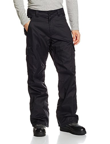 DC Shoes Banshee-Pantaloni da neve, da uomo, taglia M, colore: nero