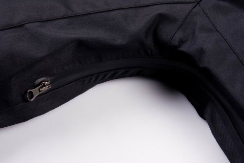 COX SWAIN TITANIUM Damen 3-Lagen Hardshelljacke Hurrican 15.000 Wassersäule 10.000 atmungsaktiv, Farbe: Black, Größe: XL -