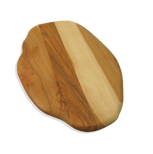 J.K. Adams 13-1/2-Inch-By-11-Inch Hickory Wood Dutchman Cutting Board