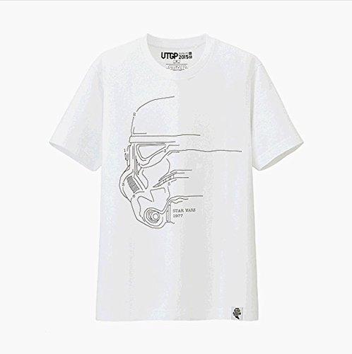 UNIQLO × スターウォーズ コラボ / グラフィックTシャツ (XL, カラー③)