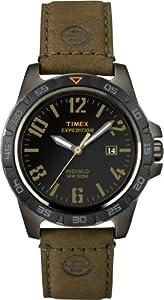 Timex Sport & Outdoor Herren-Armbanduhr Analog leder braun T49926D7