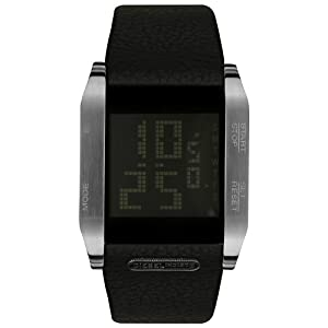 diesel dz7076 montre homme quartz digitale bracelet en cuir noir diesel montres. Black Bedroom Furniture Sets. Home Design Ideas