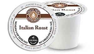 Barista Prima Coffeehouse Dark Roast Extra Bold K-Cup for Keurig Brewers, Italian Roast Coffee (Pack of 96)
