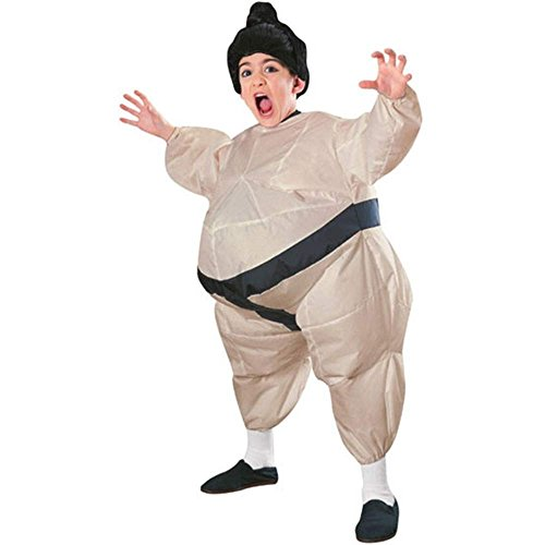 Inflatable Sumo Wrestler Kids Costume - One Size