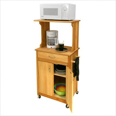 Microwave Space-Saver Cart