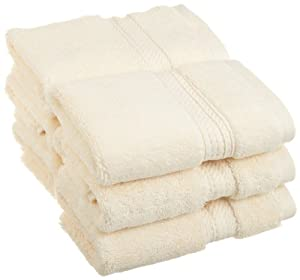 Amazon.com: Superior 900 Gram Egyptian Cotton 6-Piece Face Towel ...