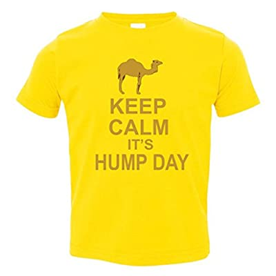 Keep calm, it's hump day Toddler T-Shirt