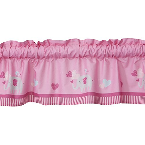 Bedtime Originals Bubblegum Jungle Window Valance