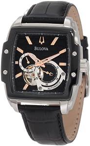 Bulova Men's 98A118 BVA Dual aperture dial Watch
