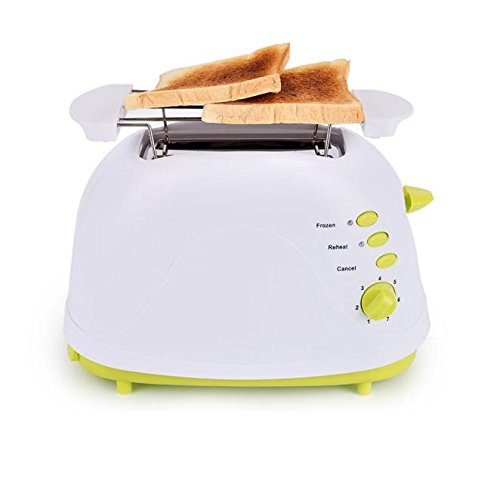 Bread toaster ,Hmlai Multifunction 750W White+Light Green 2 Slice Toaster Touch with CE,ROHS Certificate Digital Design (green) (4 Slice Green Toaster compare prices)