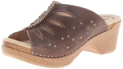 Dansko Women'S Sheri Dress Sandal,Chocolate,36 Eu/5.5-6 M Us front-741378
