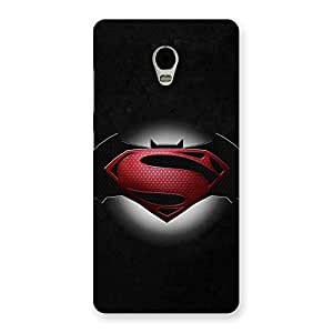 The Awesome Knight vs Day Clash Back Case Cover for Lenovo Vibe P1
