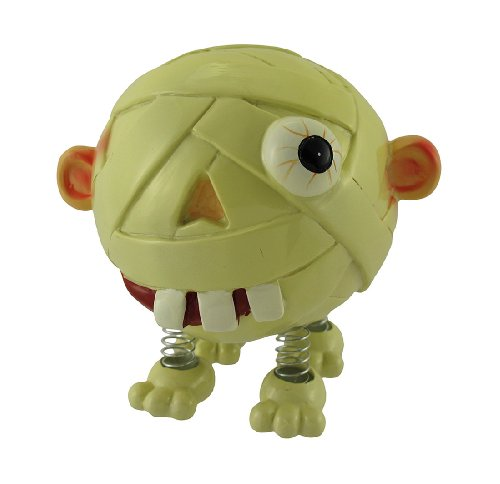 Spring Leg Mummy Monster Coin Bank - 1