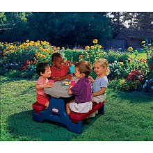 Little Tikes Endless Adventures Easy Store Jr Play Table by Little Tikes