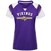 NFL Women's Short Sleeve Raglan V-Neck Tee from Amazon.com, LLC *** KEEP PORules ACTIVE ***