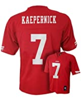 Colin Kaepernick San Francisco 49ers Red NFL Kids 2015-16 Season Mid-tier Jersey