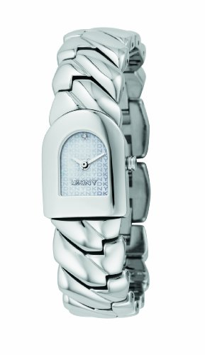 DKNY Ladies Stainless Steel Bracelet Watch With Silver Dial