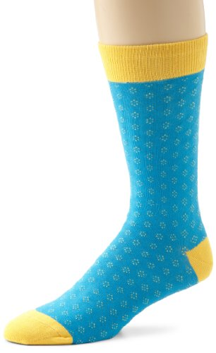 Richer Poorer Men's Sleeper Contemporary socks, Turquoise, One Size