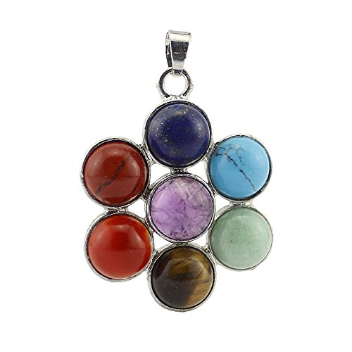 contever-7-chakra-stone-pendant-reiki-healing-balancing-alloy-insert-natural-crystal-gemstone-beads-