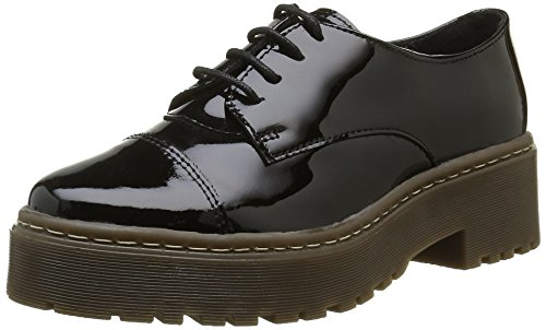 Shoe Biz Barea, Scarpe Oxford Donna, Nero (Hologram Black), 40 EU