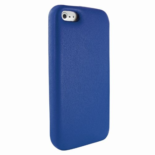 Special Sale Apple iPhone 5 / 5S Piel Frama Blue FramaGrip Leather Cover