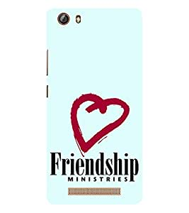 EPICCASE friends ministry Mobile Back Case Cover For Gionee Marathon M5 lite (Designer Case)