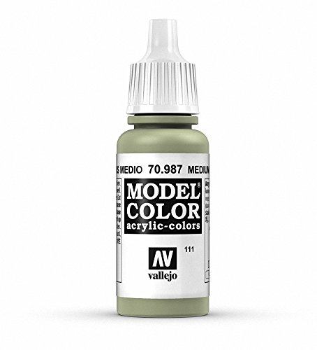 Vallejo Acrylic Paint, Medium Grey