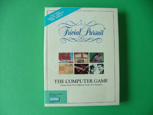 Trivial Pursuit: The Computer Game 1980's: 5.25 Disks