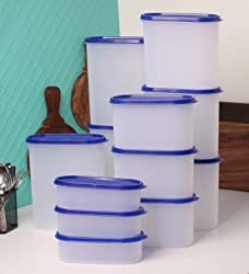 TallBoy Organise Your Kitchen Set, 12-Pieces, Mod Blue