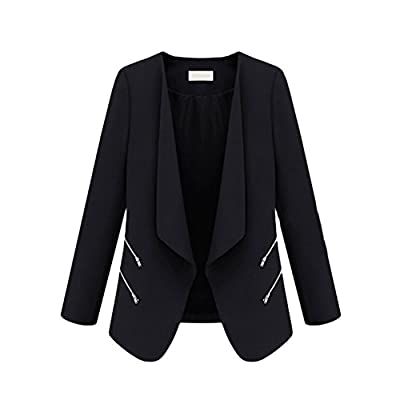 Yonger Women Casual Blazer Jacket