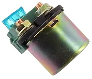 Starter Solenoid Relay Honda Motorcycle 1987-1990 CBR600 Hurricane 1987-1991 CBR1000 Hurricane 35851-MF5-751 by Discount Starter and Alternator