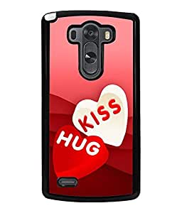 PRINTVISA Abstract Love Case Cover for LG G3