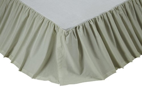 Classic Antique White King Bed Skirt front-736285