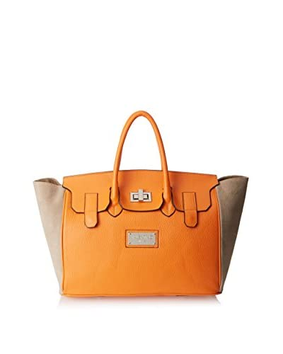 Valentino Bags by Mario Valentino Women's Omia Satchel, Orange