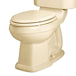 American Standard 3177.016.021 Townsend Champion-4 Right Height Elongated Seatless Toilet Bowl with Bolt Caps, Bone