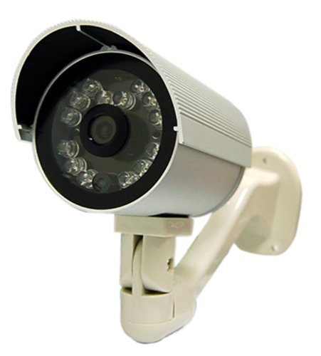 Alfa Weatherproof Infrared CCD Internet Security Camera - Long Range Indoor/Outdoor Weatherproof IR Network Surveillance Video Camera with Motion Detector and 3GPP Mobile Phone Access - Up to 85-Feet of Perfect Night-Vision in Complete Darkness