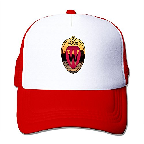 KyDoc Adjustable Baseball-caps University Of Wisconsin Madison Mesh Back Caps Red (Captain America Essential 3 compare prices)