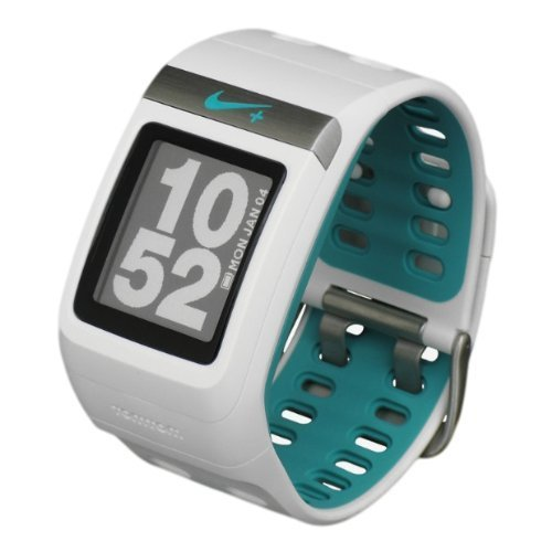 Nike+ GPS Sportwatch, White/Sport Turquoise