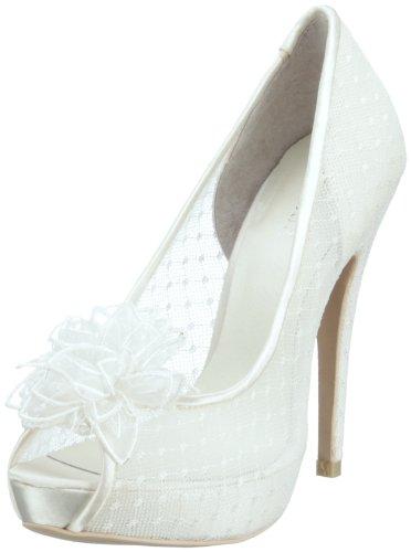 Menbur Wedding Adelia 04635, Scarpe da sposa, Avorio (Elfenbein (Ivory 04)), 39