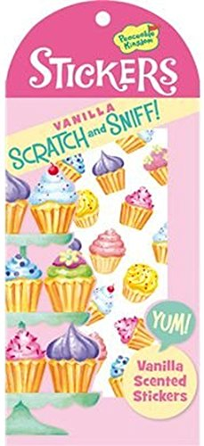 Peaceable Kingdom Scratch and Sniff Vanilla Scented Sticker Pack