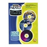 Fellowes Neato CD Labels Pack of 100 99961by Fisher