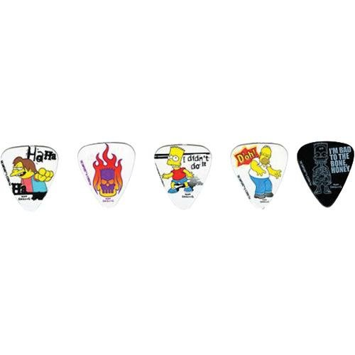 Washburn LSGP1 Homer Simpson and Friends 5 Piece Guitar Pick Pack
