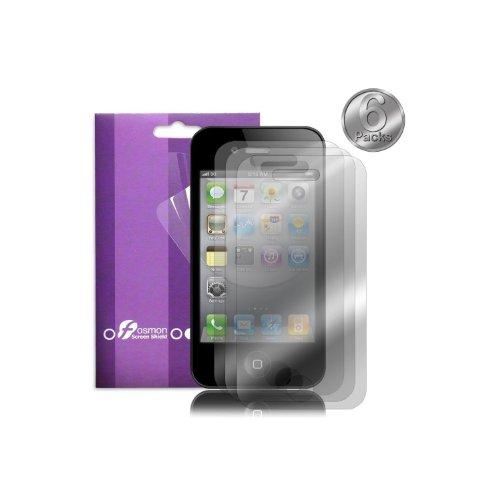 Fosmon Premium AntiGlare Screen Protector for Apple iPhone 4S/4G - 6 PCS Pack (Fosmon Retail Packaging)